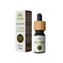 Olej konopny Natural Strong 15% (1500mg) Full Spectrum - 10ml