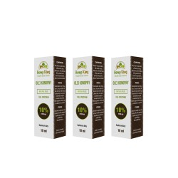 3x Olej CBD Natural Plus 10%