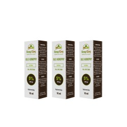 3x Olej CBD Natural 5%